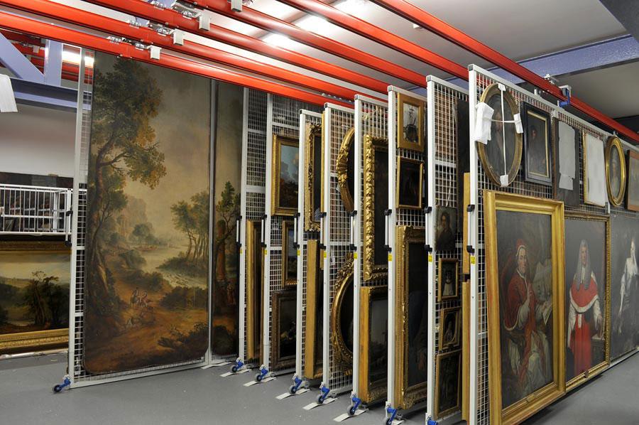Museum equipment