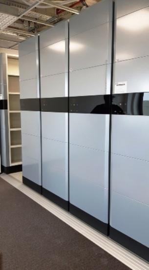 Новый дизайн выдвижных полок с дизайном SHADE®